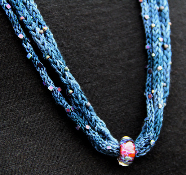 Knitted Jewelry Patterns : Nelkin Designs- Knitting Patterns