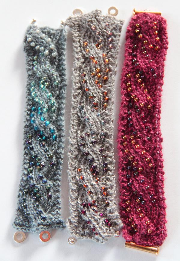 Knitted Jewellery Patterns : Nelkin Designs- Knitting Patterns